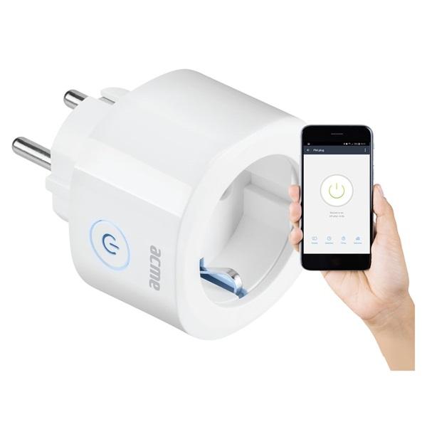 Acme SH1101 fehér Smart Wi-Fi aljzat - 1