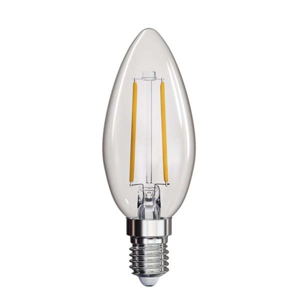 Emos Z74200 filament CANDLE 25W 250lumen E14 LED gyertya izzó - 1
