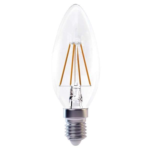 Emos Z74210 FILAMENT 4W E14 meleg fehér gyertya LED izzó - 1