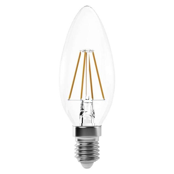 Emos Z74214 filament CANDLE 40W 465lumen E14 LED gyertya izzó - 1