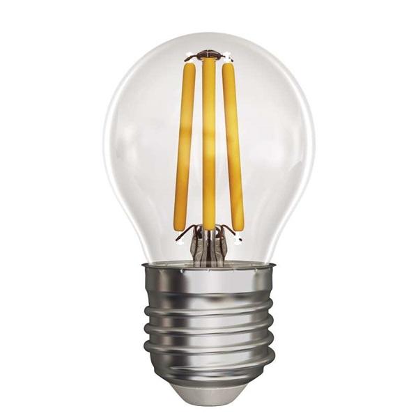 Emos Z74240 FILAMENT 4W E27 meleg fehér kisgömb LED izzó - 1