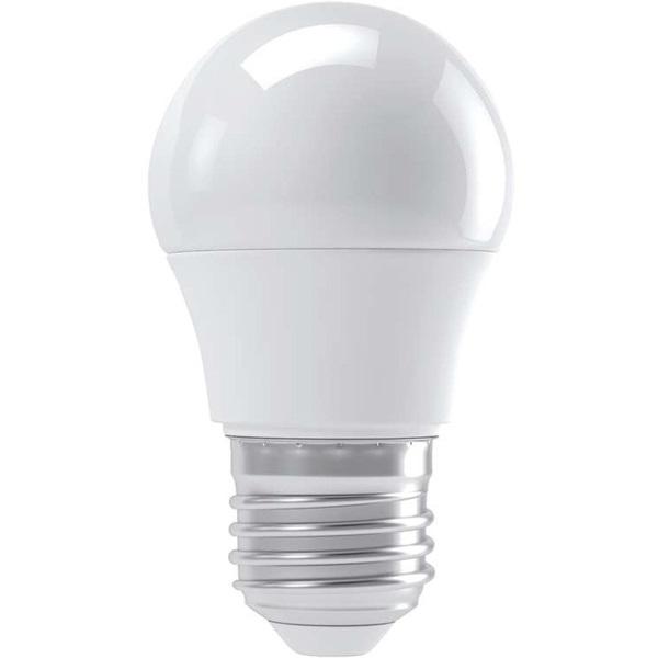 Emos ZL3907 BASIC 6W E27 500 lumen meleg fehér LED kisgömb izzó - 1