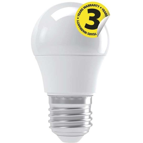Emos ZQ1110 CLASSIC 4W E27 330 lumen meleg fehér LED kisgömb izzó - 1