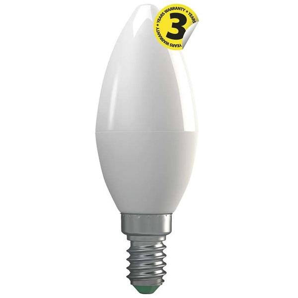 Emos ZQ3210 CLASSIC E14 4W 330 lumen meleg fehér LED gyertya izzó - 1