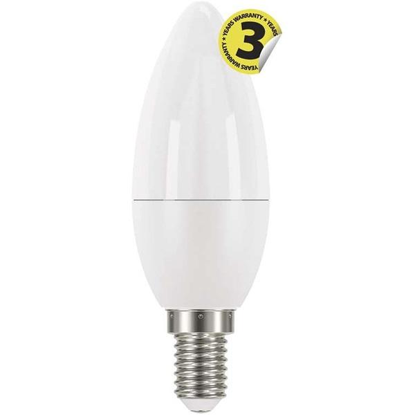 Emos ZQ3220 CLASSIC 6W E14 470 lumen meleg fehér LED gyertya izzó - 1