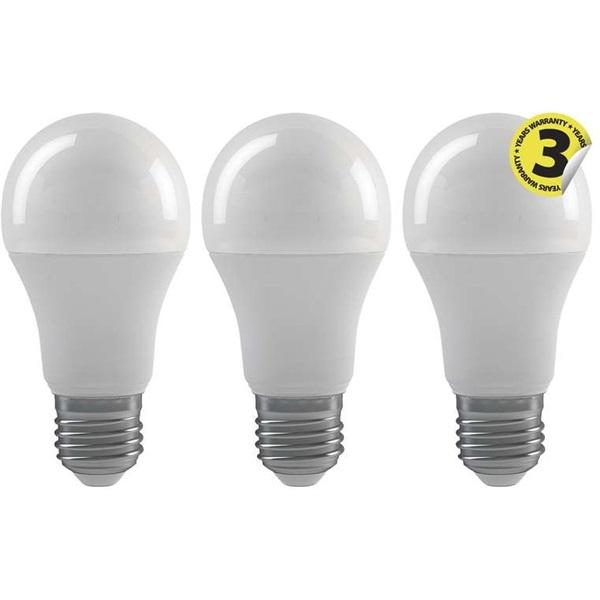 Emos ZQ5141.3 CLASSIC A60 9W E27 806 lumen természetes fehér LED izzó 3db/csomag - 1