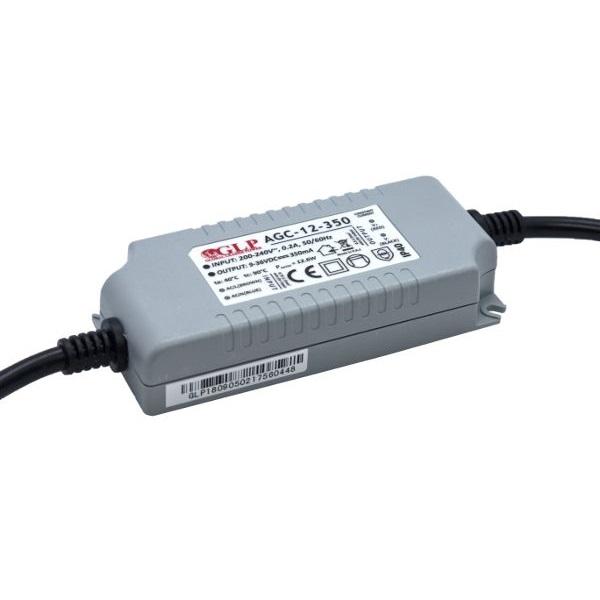 GLP AGC-12-350 12.6W 9~36V 350mA IP40 LED tápegység - 1