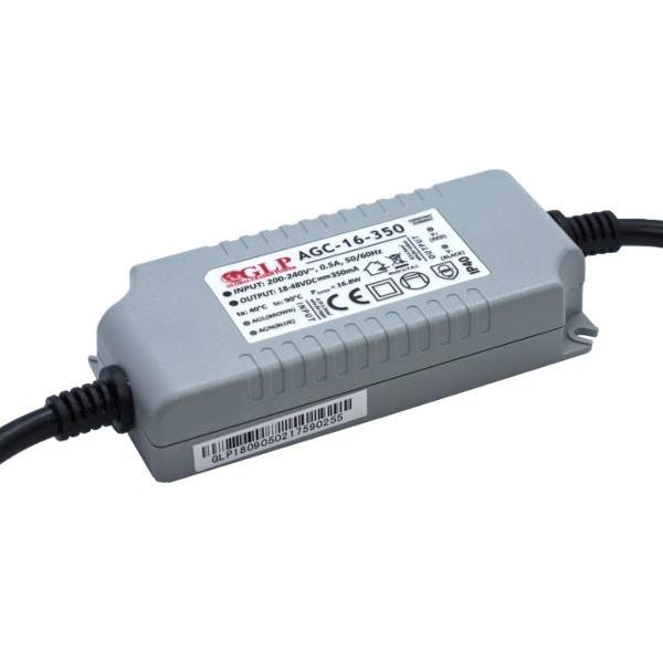 GLP AGC-16-350 16.8W 18~48V 350mA IP40 LED tápegység - 1