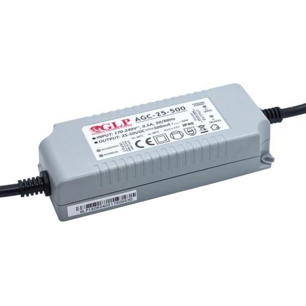 GLP AGC-25-500 25W 25~50V 500mA IP40 LED tápegység - 1
