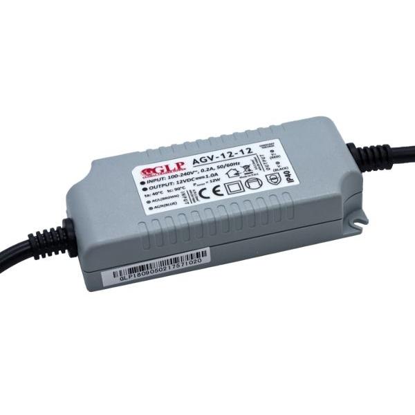 GLP AGV-12-12 12W 12V 1A IP40 LED tápegység - 1