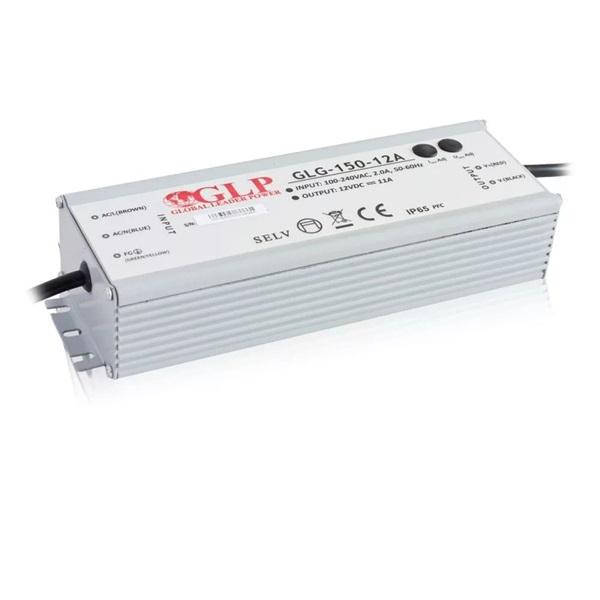 GLP GLG-150-12A 12V/12.5A 150W IP67 PFC szűrős LED tápegység - 1