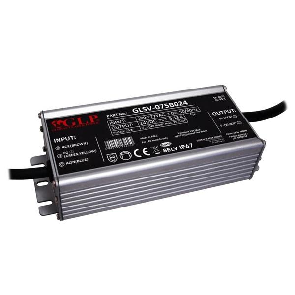 GLP GLSV-075B024 24V/3A 75W IP67 LED tápegység - 1