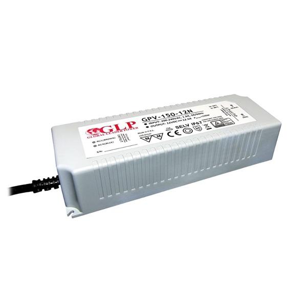 GLP GPV-150-12N 150W 12.5V 10A IP67 LED tápegység - 1
