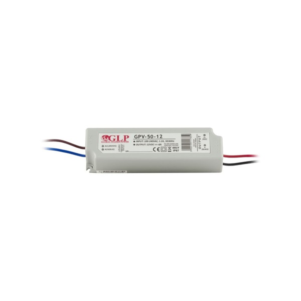 GLP GPV-50-12 48W 12V 4A IP67 LED tápegység - 1
