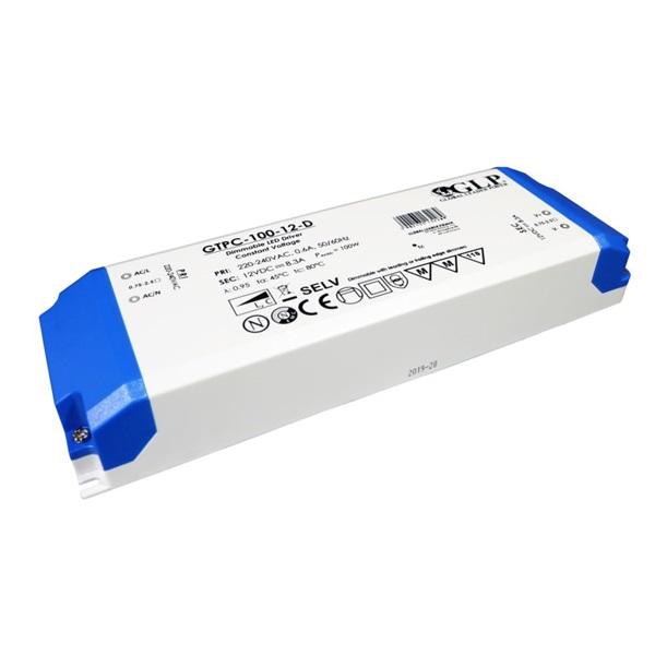 GLP GTPC-100-12-D 12V/8.3A 100W IP20 LED tápegység - 1
