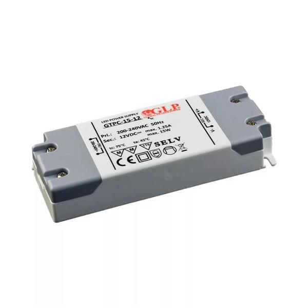 GLP GTPC-15-12 12V/1,25A 15W IP67 LED tápegység - 1