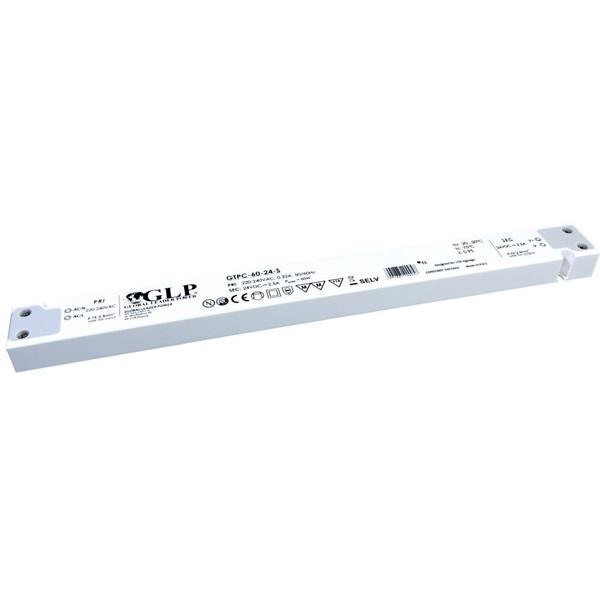 GLP GTPC-60-24-S 24V/2.5A 60W IP20 LED tápegység - 1