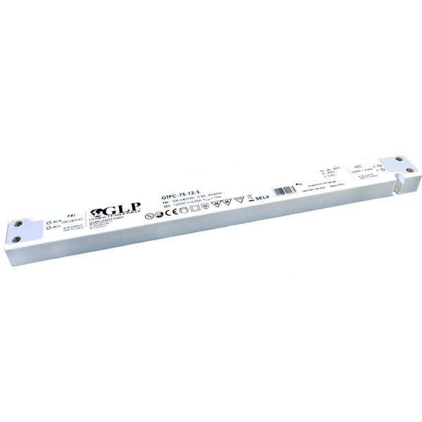 GLP GTPC-75-12-S 12V/6.25A 75W IP20 LED tápegység - 1