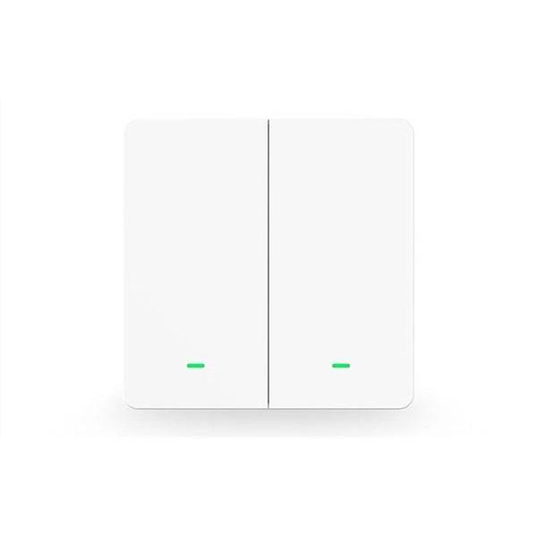 GOSUND SW9 Smart kétbillentyűs Wi-Fi-s fali kapcsoló, 230V, max. 10A - 1