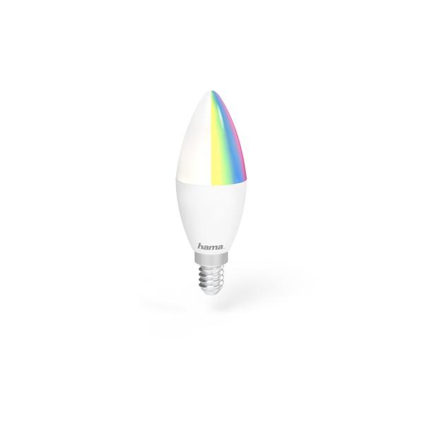Hama 176583 E14 5,5W RGB okos Wifi LED izzó - 1