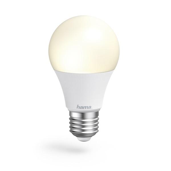 Hama 176584 E27 10W fehér okos Wifi LED izzó - 1