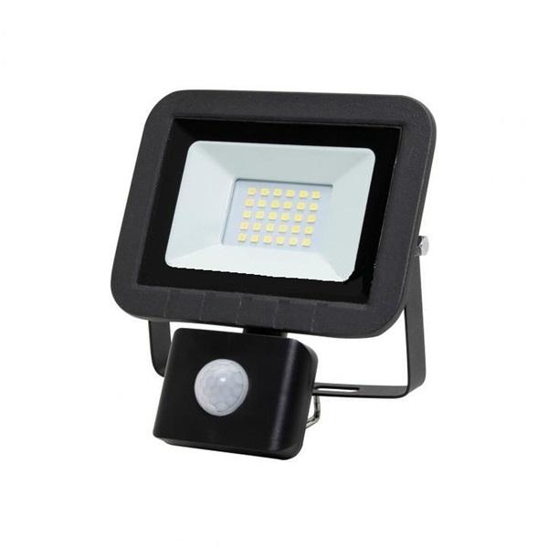 Home FLP 20 SMD 20 W lapos szürke LED reflektor mozgásérzékelővel - 1