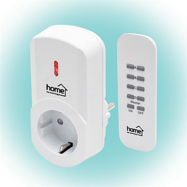 Home TH 1011 távirányítható hálózati aljzat távirányítóval - 1