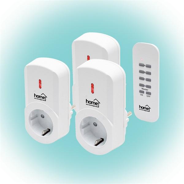 Home TH 1013 távirányítható hálózati aljzat szett távirányítóval - 1