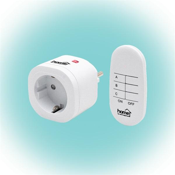 Home TH 3011 távirányítható hálózati aljzat távirányítóval - 1