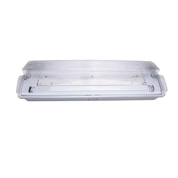 Iris Lighting I820EMEX3H3W IP65 3w 3h oldalfali biztonsági és irányfény lámpatest - 1