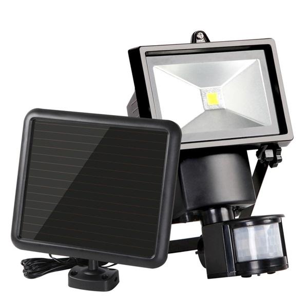 IRIS MSL-016W-SBL napelemes mozgásérzékelő reflektor - 1