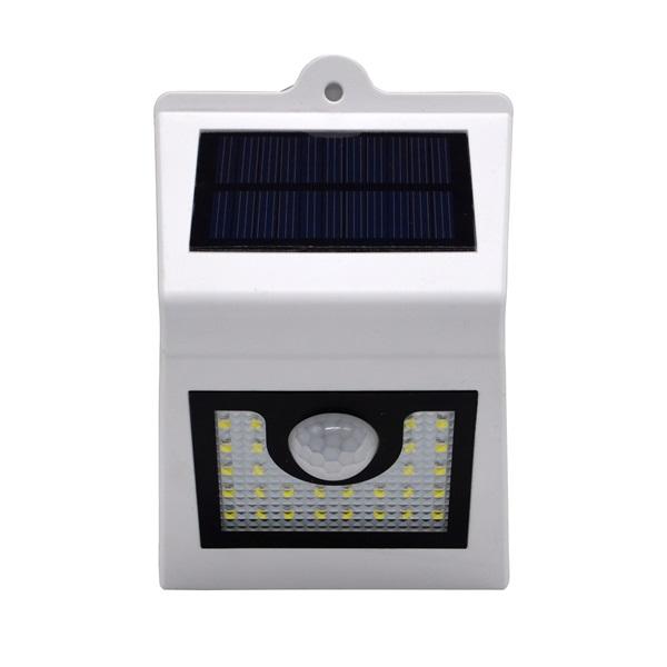 IRIS MSL-018CW-WB-28LED napelemes mozgásérzékelő reflektor - 1