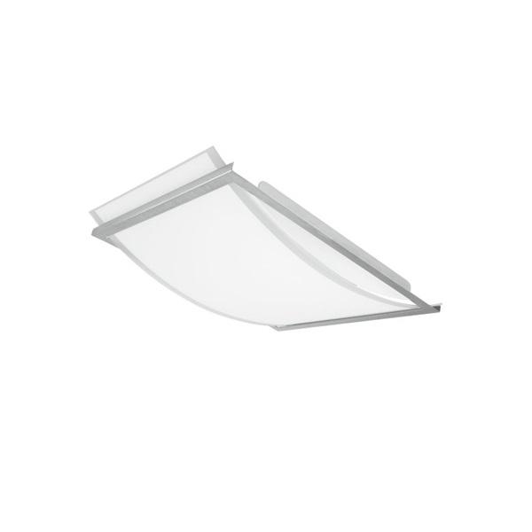 Ledvance Lunive Arc 19W/4000K/1200lm/IP20/393x300mm üvegbúrás mennyezeti LED lámpa - 1