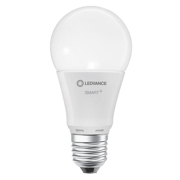Ledvance Smart+ 8,5W 2700K E27, dimmelhető körte alakú fényforrás - 1