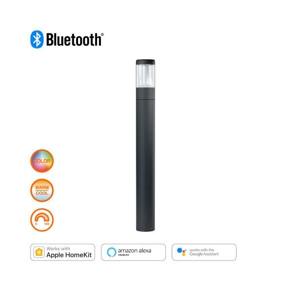 Ledvance Smart+ Bluetooth vezérlésű 90cm/12W/650lm/RGBW kültéri LED állólámpa - 1