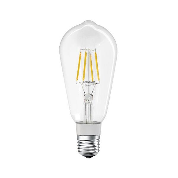 Ledvance Smart+ Bluetooth vezérlésű üveg búra/5,5W/650lm/DIM/2700K/E27 LED Edison körte izzó - 1