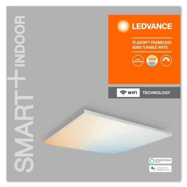 Ledvance Smart+ Wifi  okos lámpatest Planon Frameless Square, áll. színhőm. 600x600 okos,  vezérelhető  lámpatest - 1