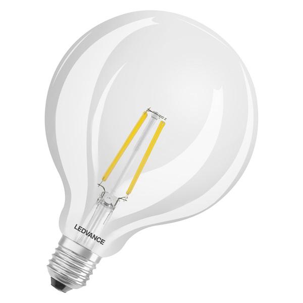 Ledvance Smart+ Wifi vezérlésű 5,5W 2700K E27 dimmelhető filament nagygömb LED fényforrás - 1