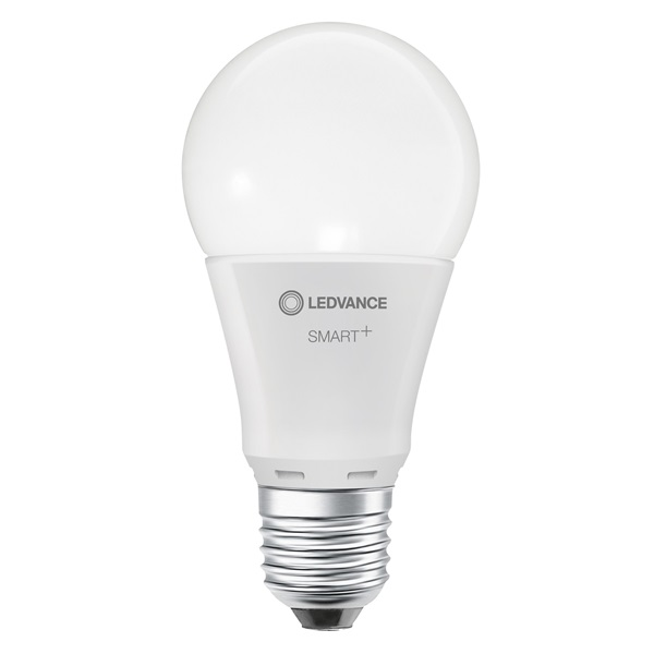 Ledvance Smart+ Wifi vezérlésű 9,5W állítható színhőmérsékletű E27 dimmelhető körte LED fényforrás - 1