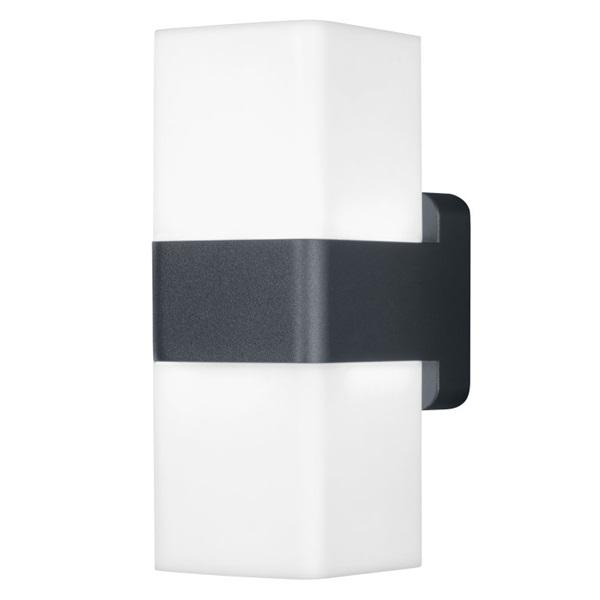 Ledvance Smart+ WiFi Wall Cube falra szerelhető okos lámpa sötét szürke, színváltós okos,  vezérelhető  lámpatest - 1