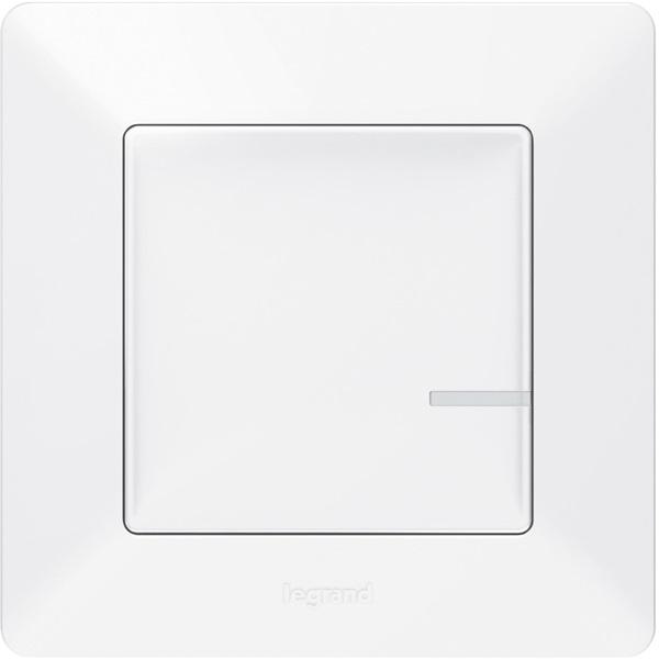 Legrand 752185 Valena Life Netatmo fehér egypólusú vezeték nélküli kapcsoló - 1