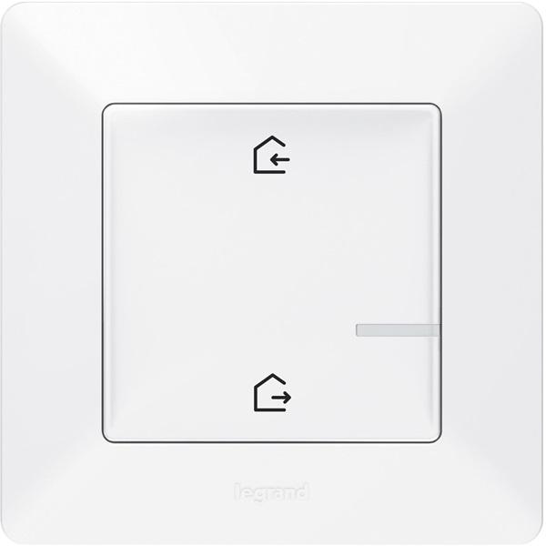 Legrand 752186 Valena Life Netatmo fehér intelligens Vezeték nélküli főkapcsoló - Érkezés/Távozás funkcióval - 1