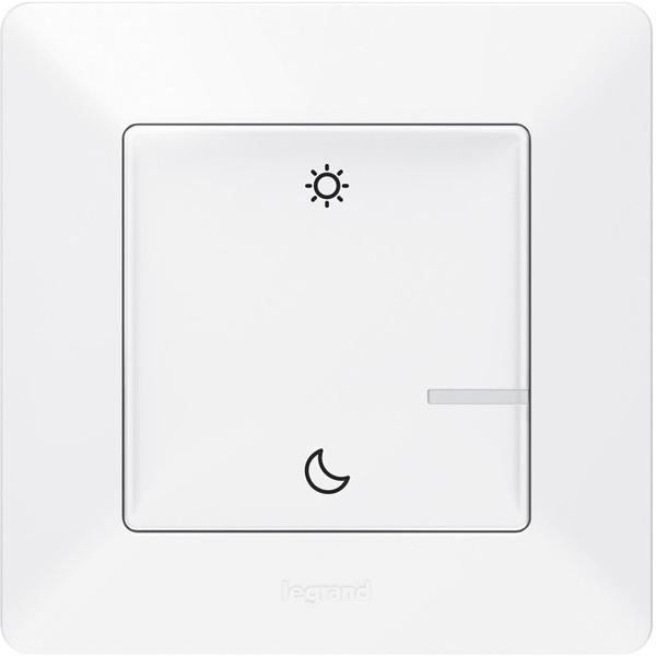 Legrand 752189 Valena Life Netatmo fehér intelligens Vezeték nélküli szcenárió kapcsoló Ébredés/Alvás funkcióval - 1
