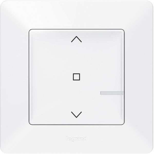 Legrand 752191 Valena Life Netatmo fehér intelligens Vezeték nélküli redőnykapcsoló - 1
