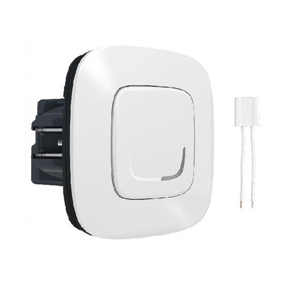 Legrand 752584 Valena Allure Netatmo fehér intelligens fényerőszabályzó kapcsoló + kompenzátor - 1