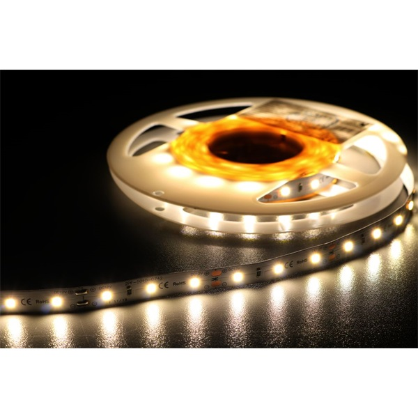 MW HQS-2835 5M 60LED/m 1260 lm/m 12W 24V fehér LED szalag - 1