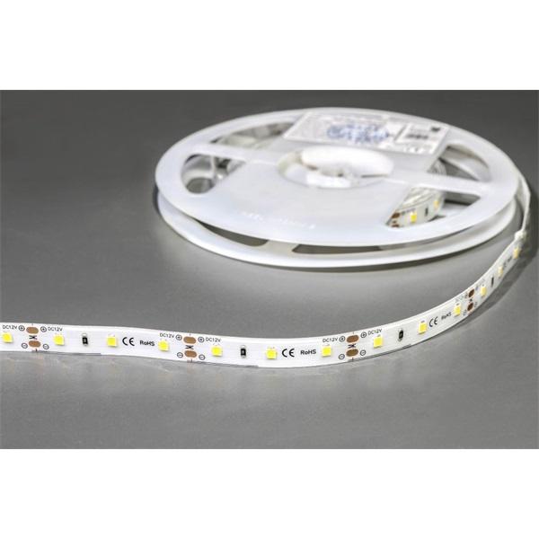 MW HQS-2835 5M 60LED/m 1260 lm/m 12W meleg fehér vízálló LED szalag - 1