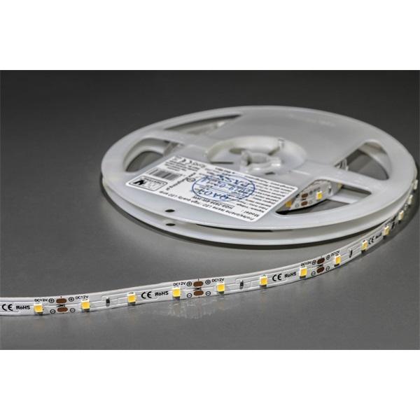 MW HQS-2835 5M 60LED/m 630 lm/m 6W 12V meleg fehér LED szalag - 1