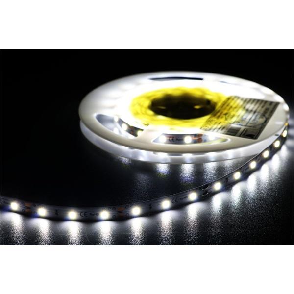MW HQS-2835 5M 60LED/m 630 lm/m 6W 24V hideg fehér LED szalag - 1
