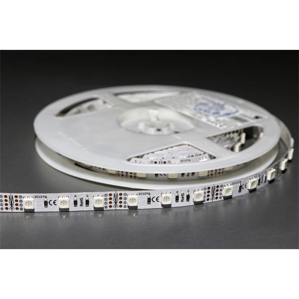 MW HQS-5050 5M 60LED/m 14,4W RGB LED szalag - 1